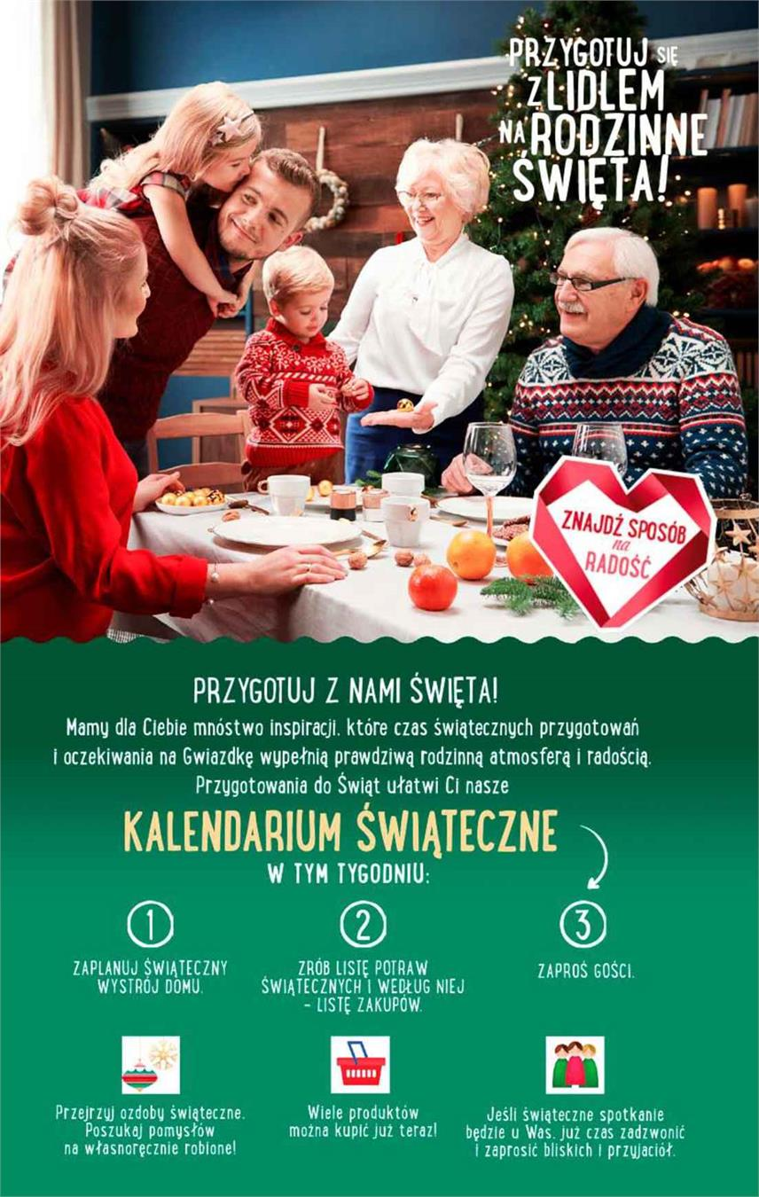 Gazetka Lidl Polska Sp. z o.o. nr 26 od 2018-12-06 do 2018-12-08
