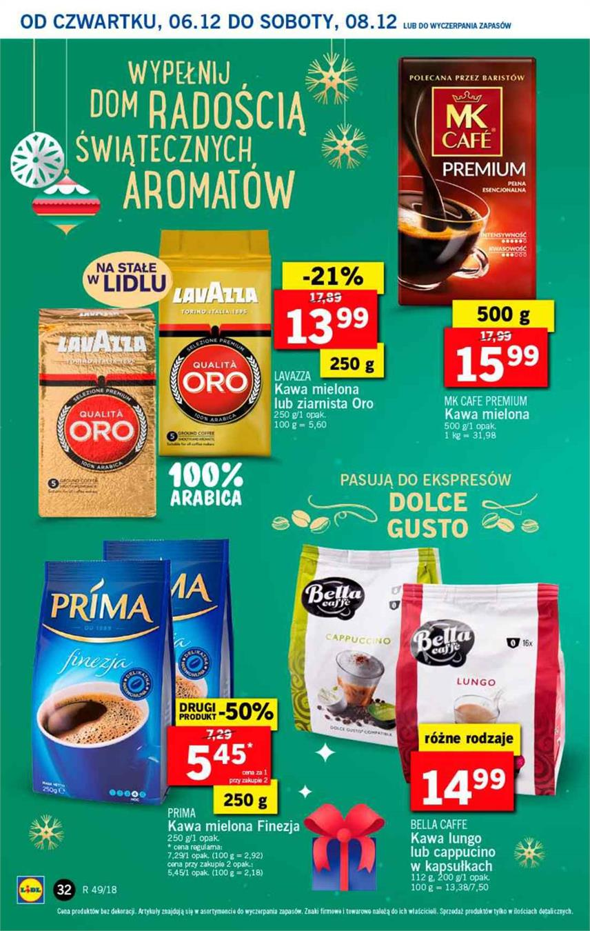 Gazetka Lidl Polska Sp. z o.o. nr 32 od 2018-12-06 do 2018-12-08