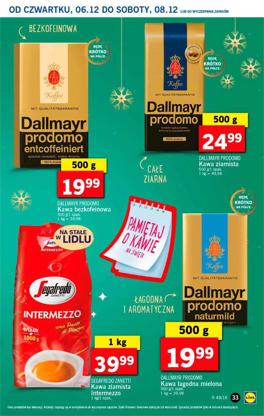 Gazetka Lidl Polska Sp. z o.o. nr 33 od 2018-12-06 do 2018-12-08