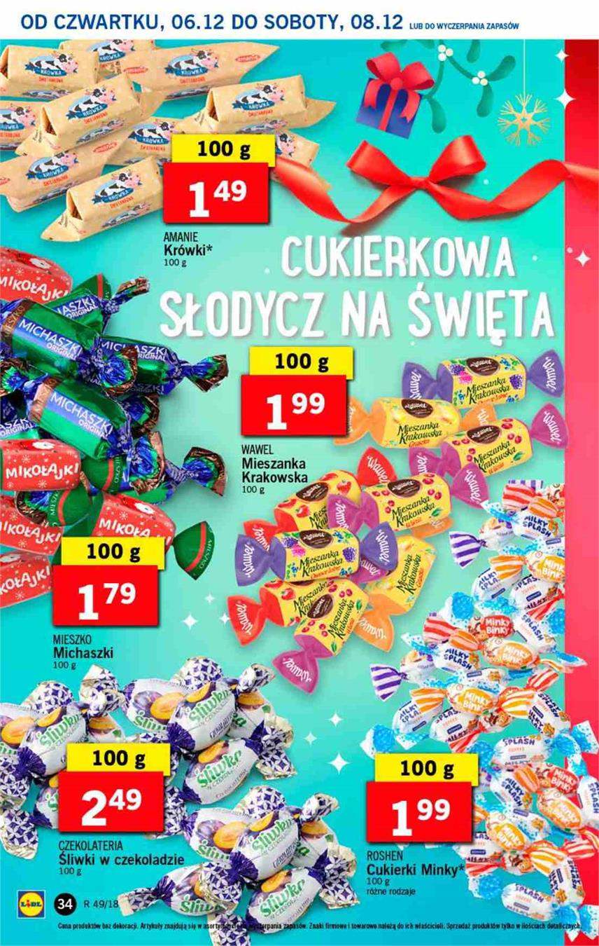 Gazetka Lidl Polska Sp. z o.o. nr 34 od 2018-12-06 do 2018-12-08