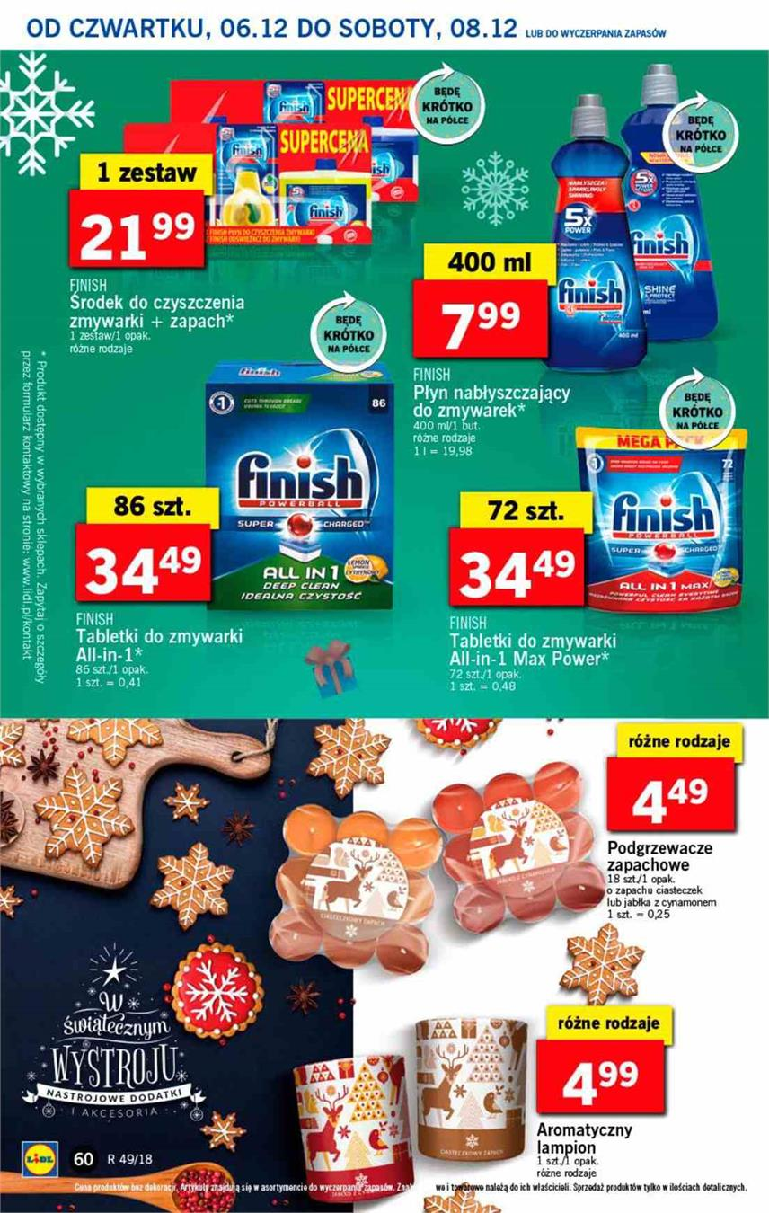 Gazetka Lidl Polska Sp. z o.o. nr 60 od 2018-12-06 do 2018-12-08