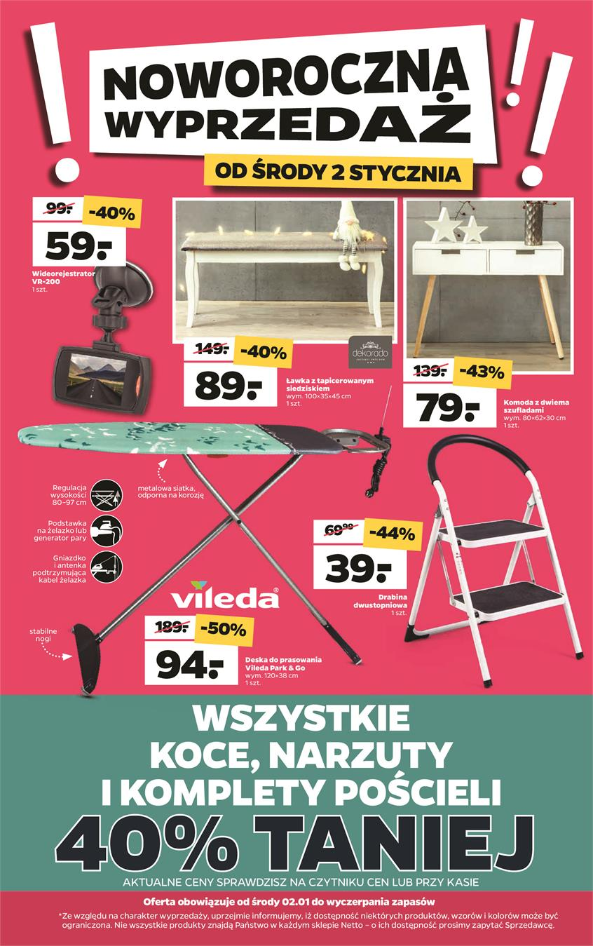 Gazetka Netto Sp. z o.o. nr 1 od 2019-01-02 do 2019-01-05