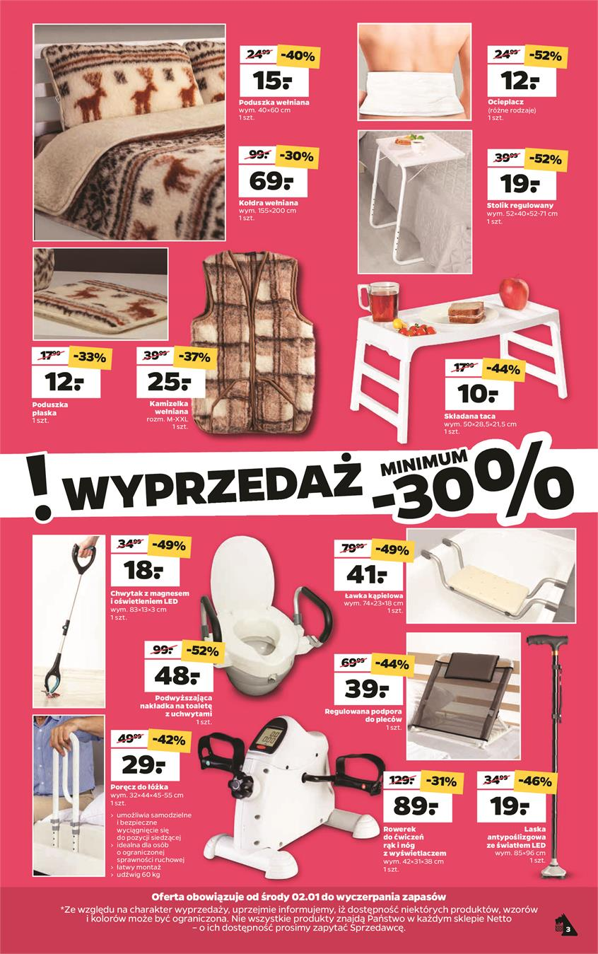 Gazetka Netto Sp. z o.o. nr 3 od 2019-01-02 do 2019-01-05