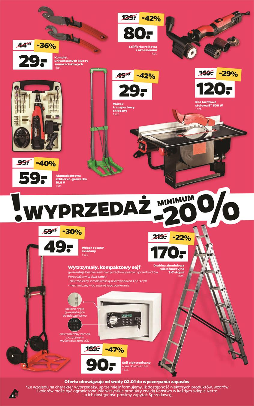 Gazetka Netto Sp. z o.o. nr 6 od 2019-01-02 do 2019-01-05