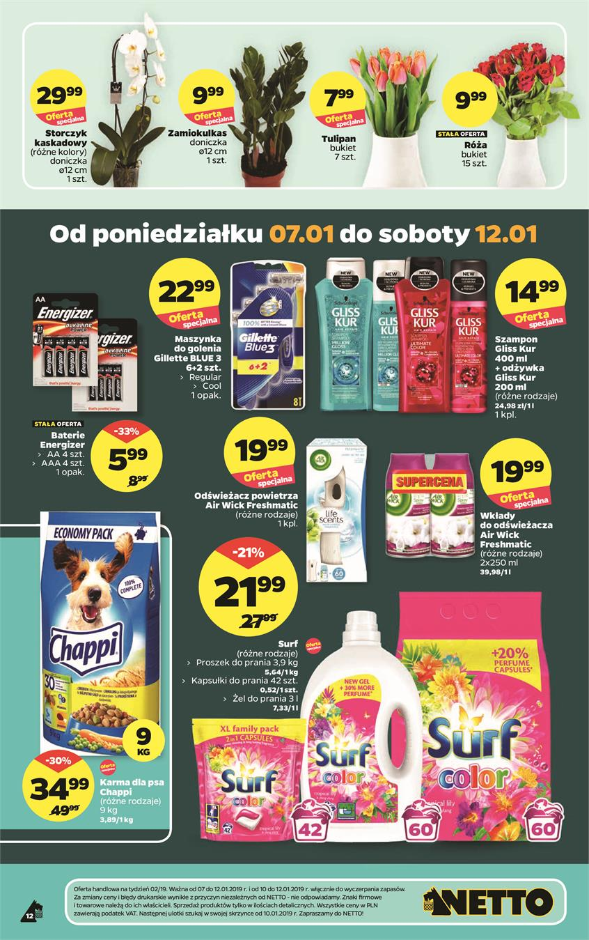 Gazetka Netto Sp. z o.o. nr 7 od 2019-01-07 do 2019-01-12