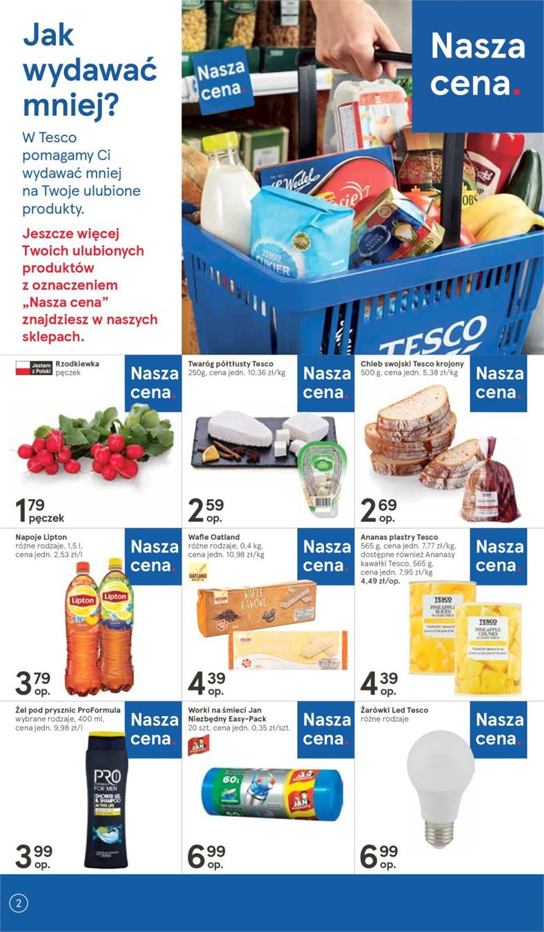 Gazetka Tesco Polska Sp. z o.o. nr 2 od 2019-01-10 do 2019-01-16