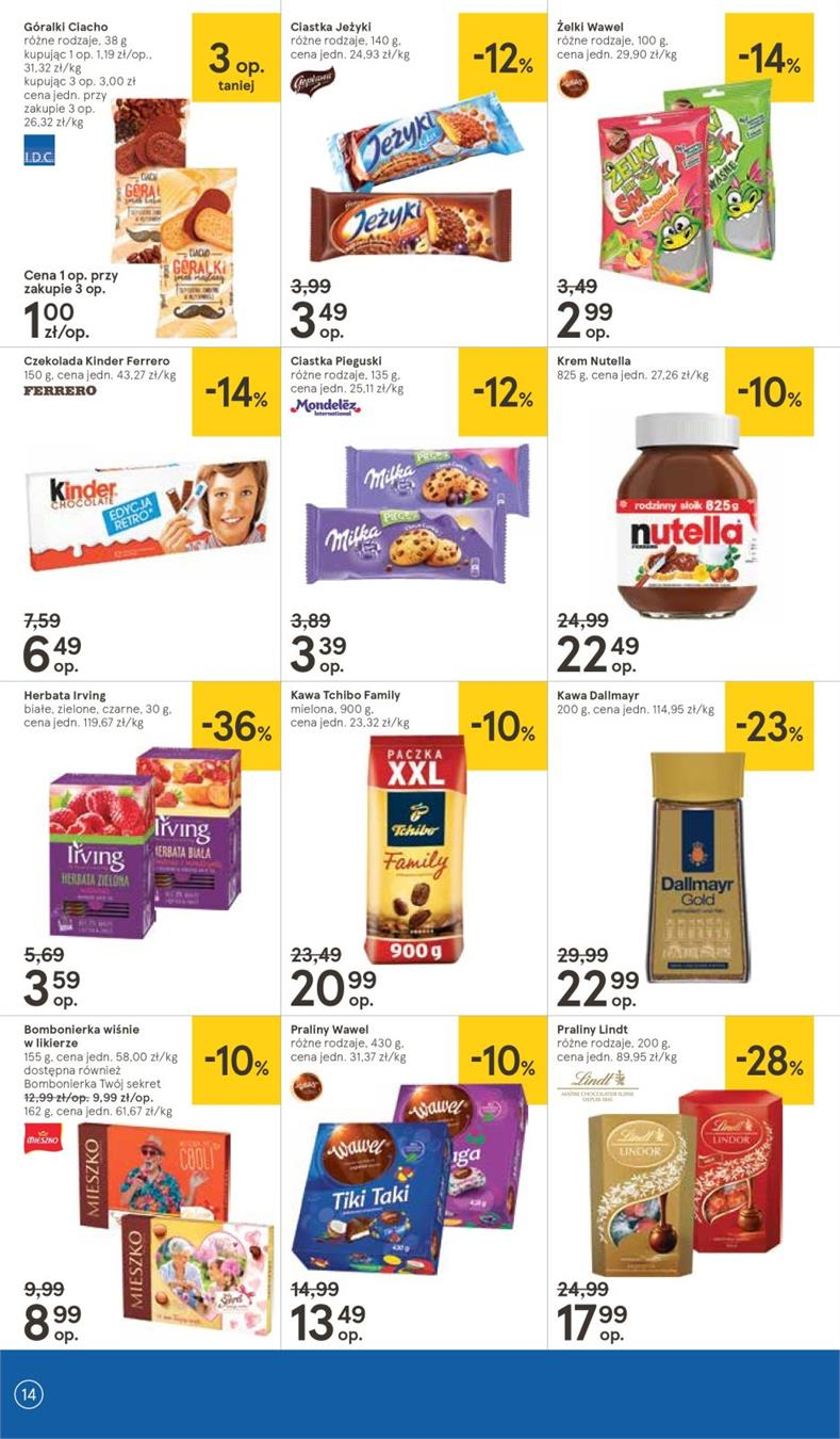 Gazetka Tesco Polska Sp. z o.o. nr 14 od 2019-01-10 do 2019-01-16