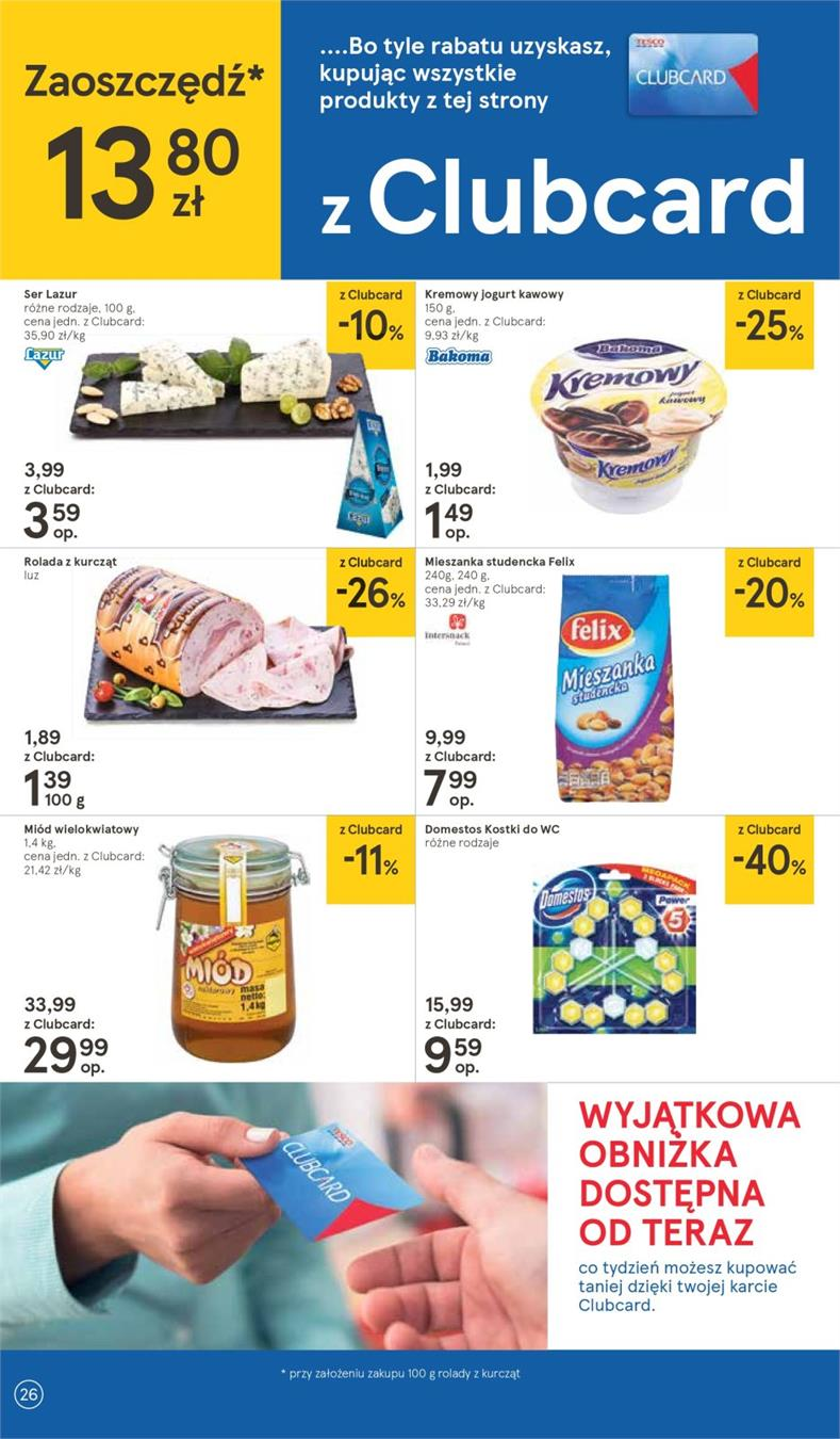 Gazetka Tesco Polska Sp. z o.o. nr 26 od 2019-01-10 do 2019-01-16