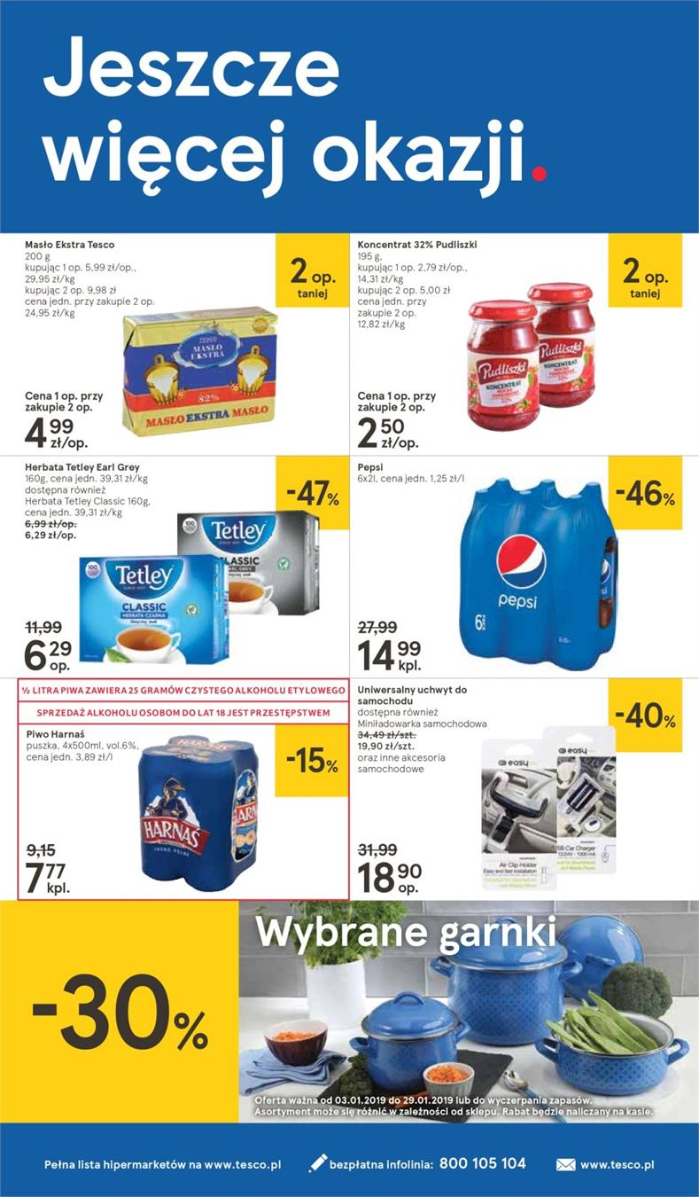 Gazetka Tesco Polska Sp. z o.o. nr 28 od 2019-01-10 do 2019-01-16
