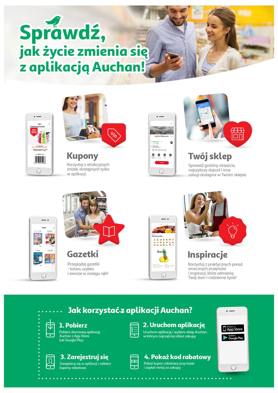Gazetka Auchan Polska Sp. z o.o. nr 3 od 2019-01-10 do 2019-01-23