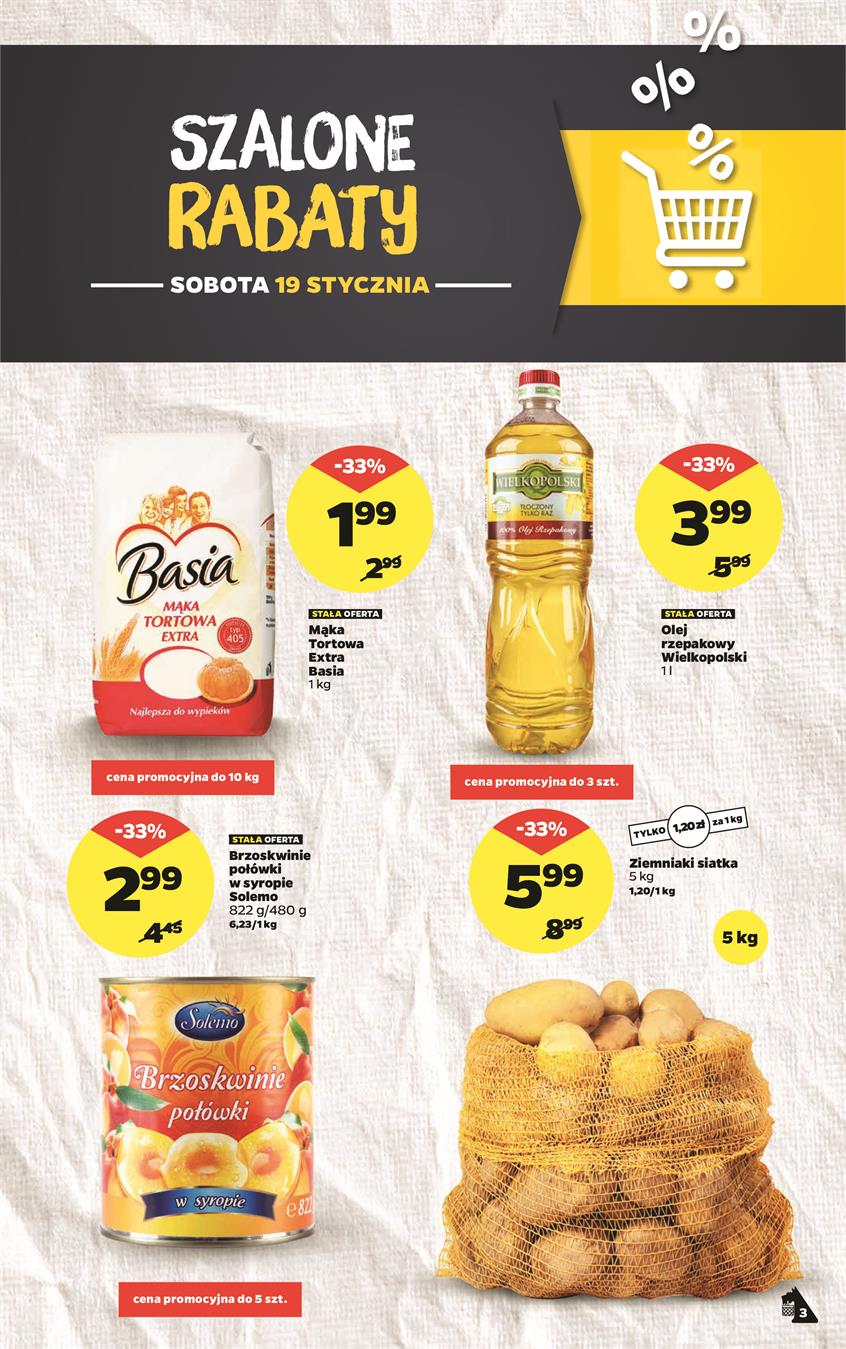 Gazetka Netto Sp. z o.o. nr 3 od 2019-01-14 do 2019-01-20