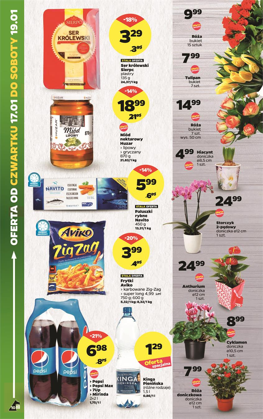 Gazetka Netto Sp. z o.o. nr 10 od 2019-01-14 do 2019-01-20