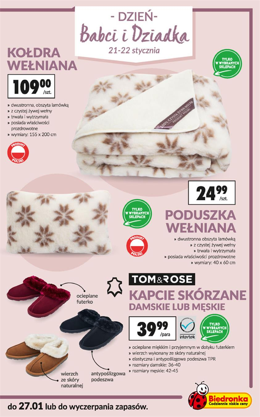 Gazetka Jeronimo Martins Polska SA nr 3 od 2019-01-14 do 2019-01-30