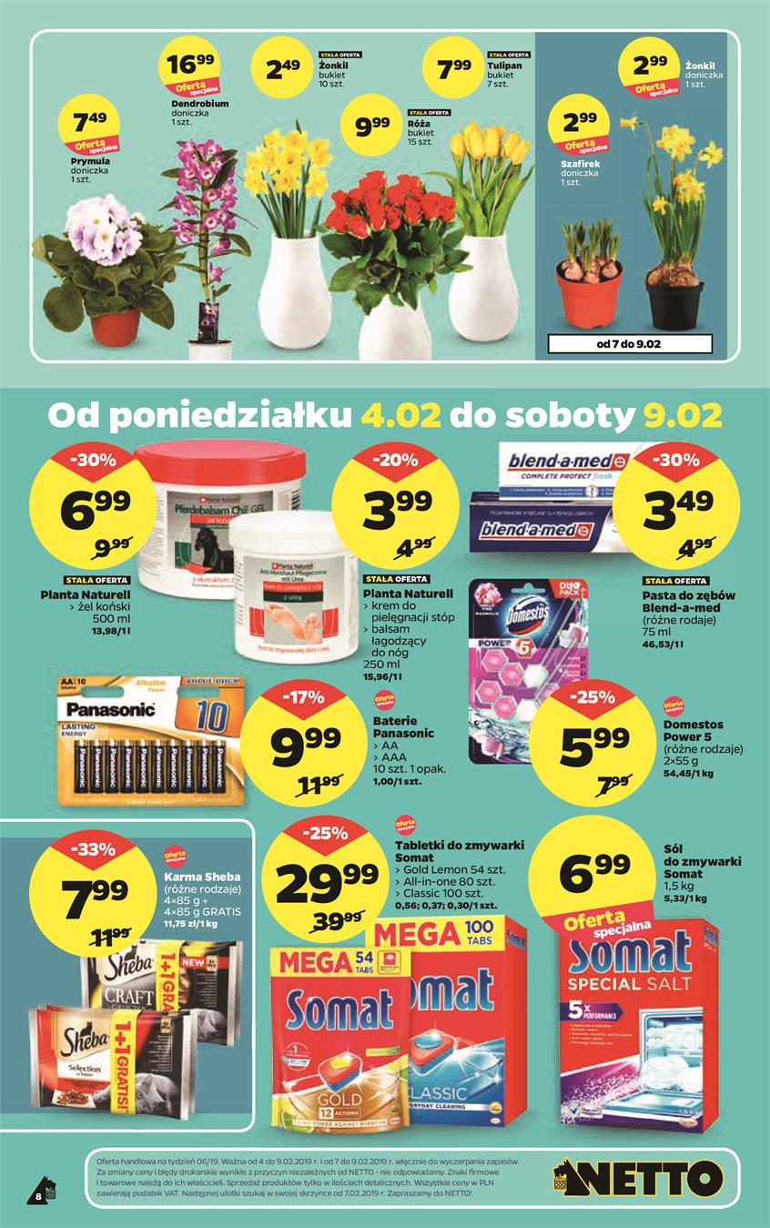Gazetka Netto Sp. z o.o. nr 8 od 2019-02-04 do 2019-02-10