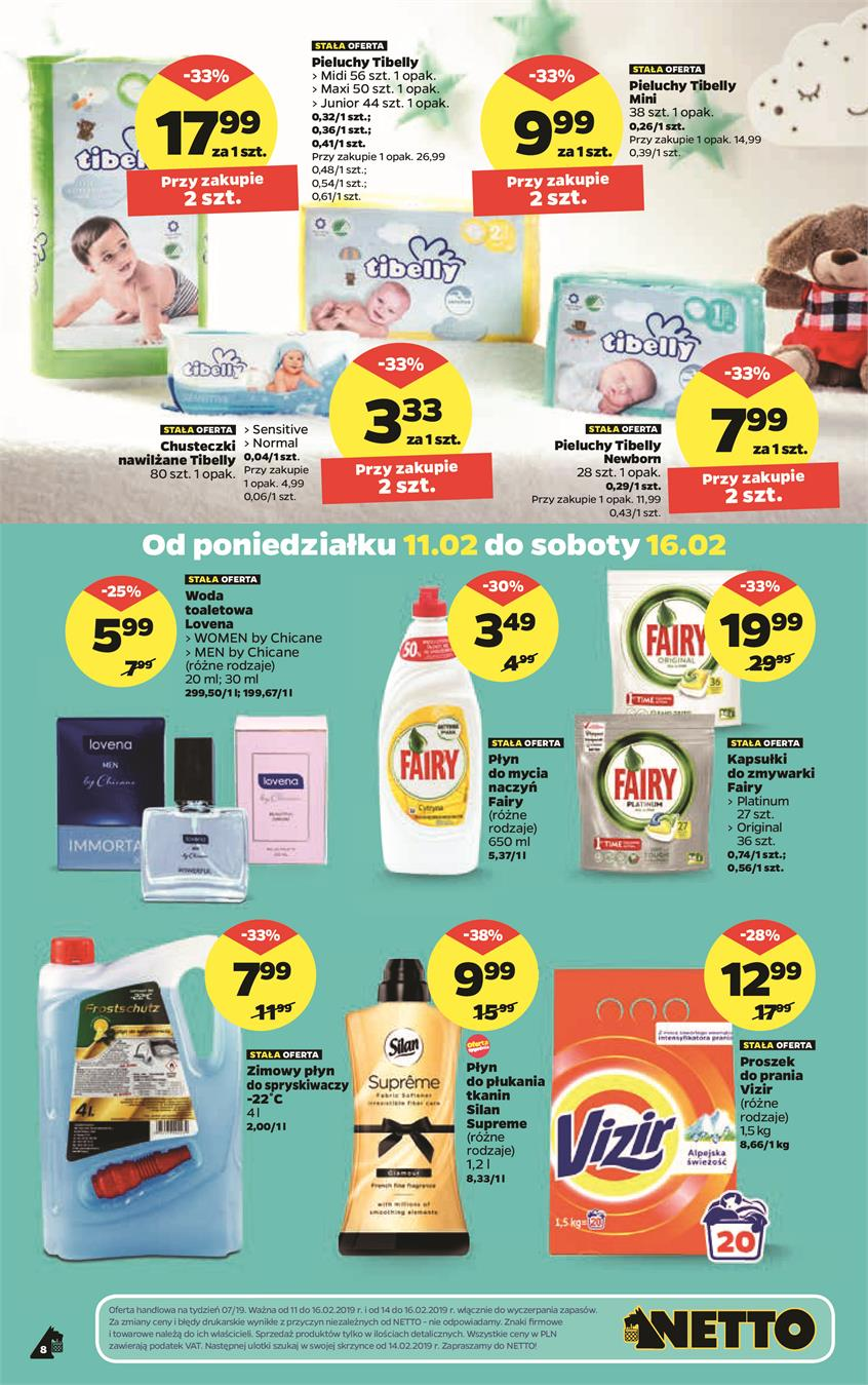 Gazetka Netto Sp. z o.o. nr 8 od 2019-02-11 do 2019-02-17