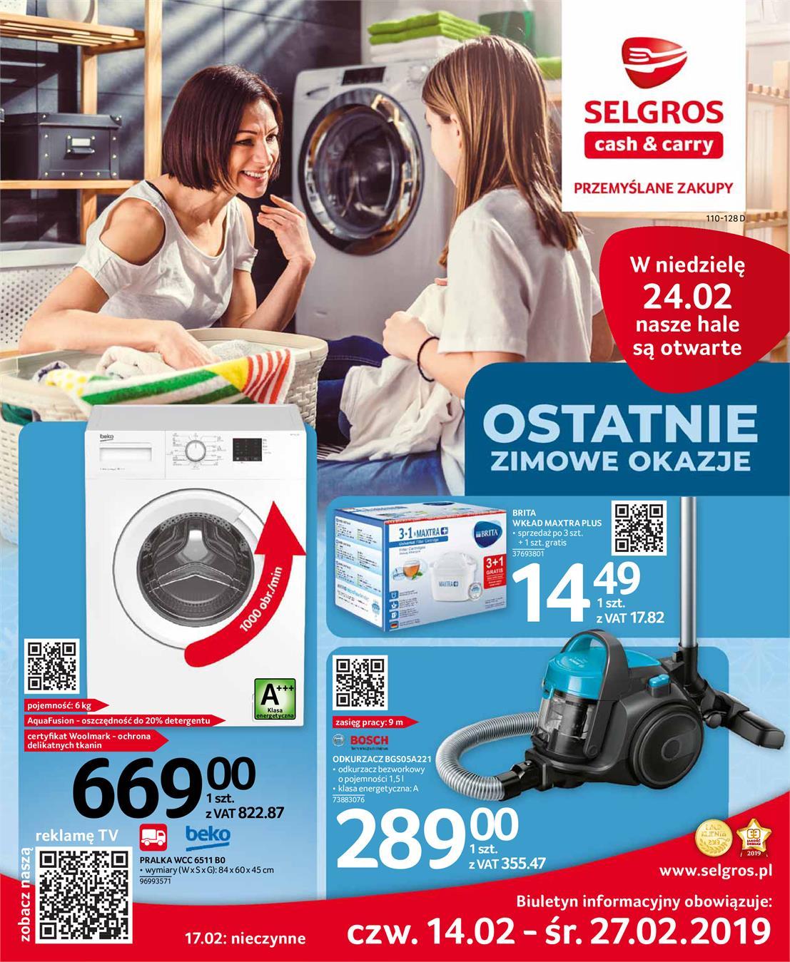 info for d4d11 33791 Gazetka promocyjna selgros.pl -