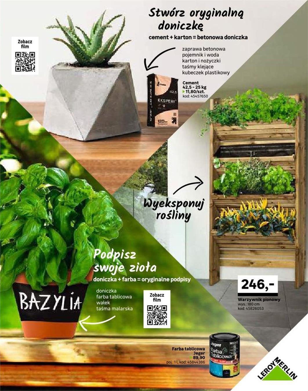 Gazetka Promocyjna Leroymerlinpl Katalog Ogród Marzec