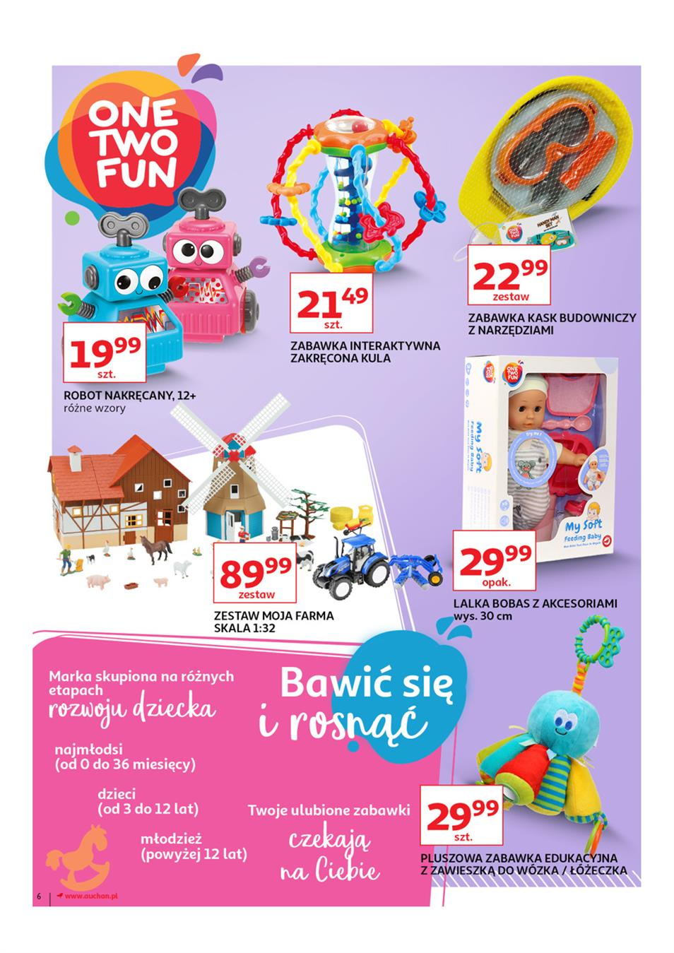 Gazetka Auchan Polska Sp. z o.o. nr 6 od 2019-03-14 do 2019-03-27