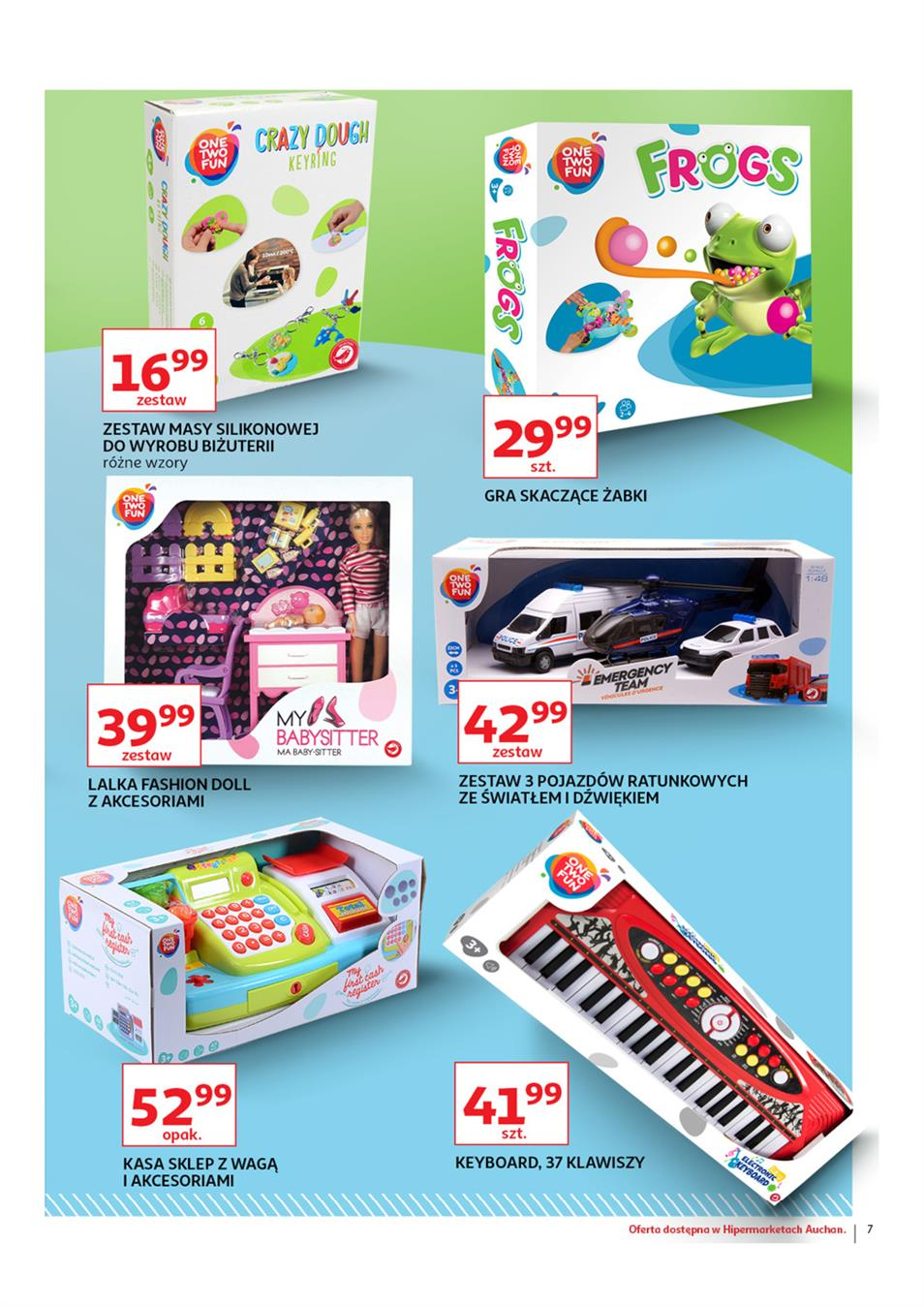 Gazetka Auchan Polska Sp. z o.o. nr 7 od 2019-03-14 do 2019-03-27