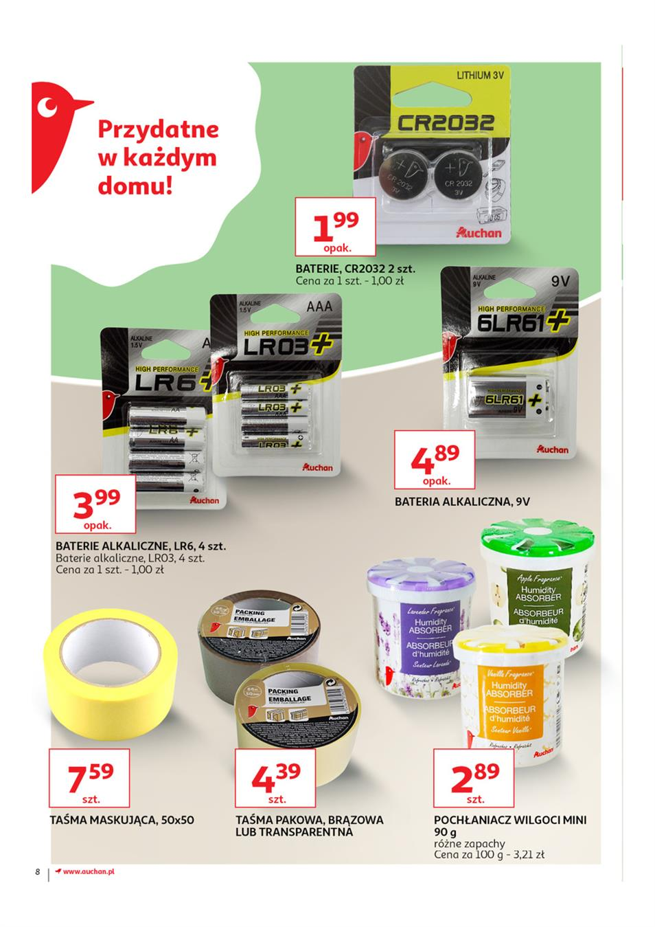 Gazetka Auchan Polska Sp. z o.o. nr 8 od 2019-03-14 do 2019-03-27