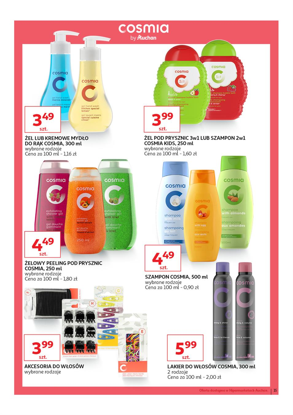 Gazetka Auchan Polska Sp. z o.o. nr 15 od 2019-03-14 do 2019-03-27