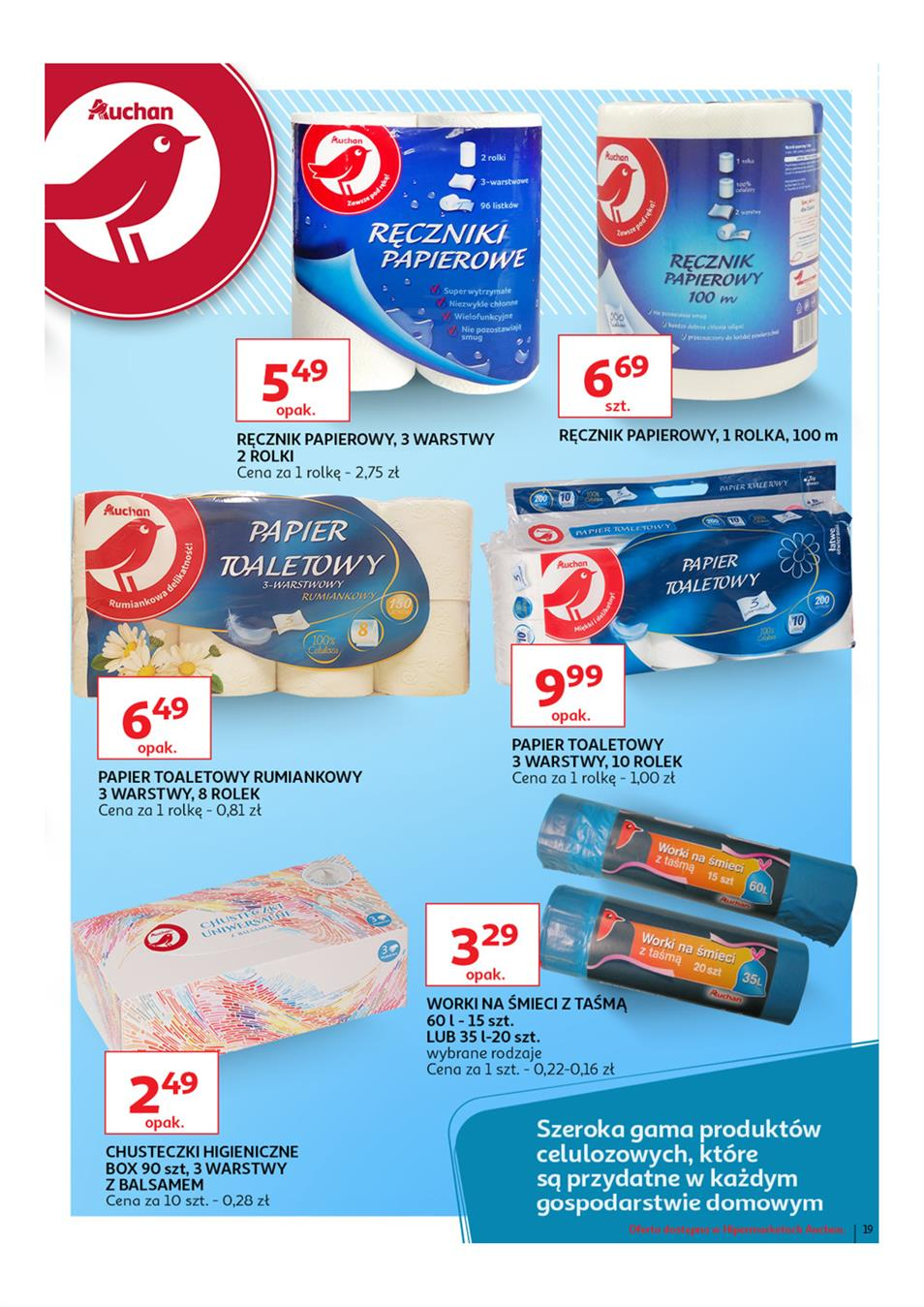 Gazetka Auchan Polska Sp. z o.o. nr 19 od 2019-03-14 do 2019-03-27