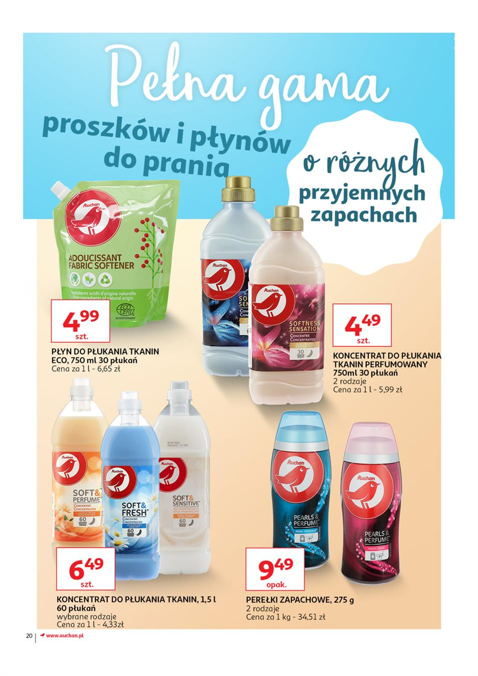 Gazetka Auchan Polska Sp. z o.o. nr 20 od 2019-03-14 do 2019-03-27