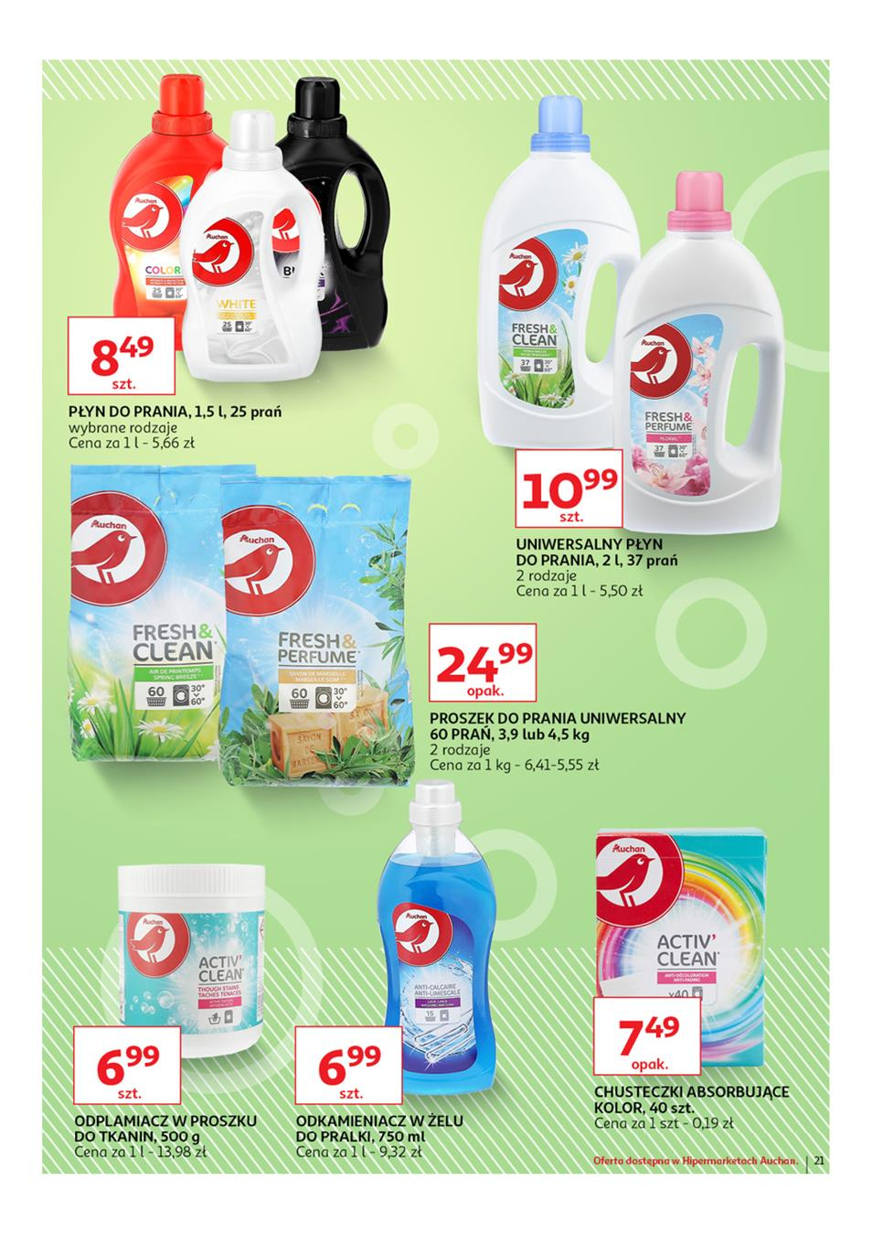 Gazetka Auchan Polska Sp. z o.o. nr 21 od 2019-03-14 do 2019-03-27