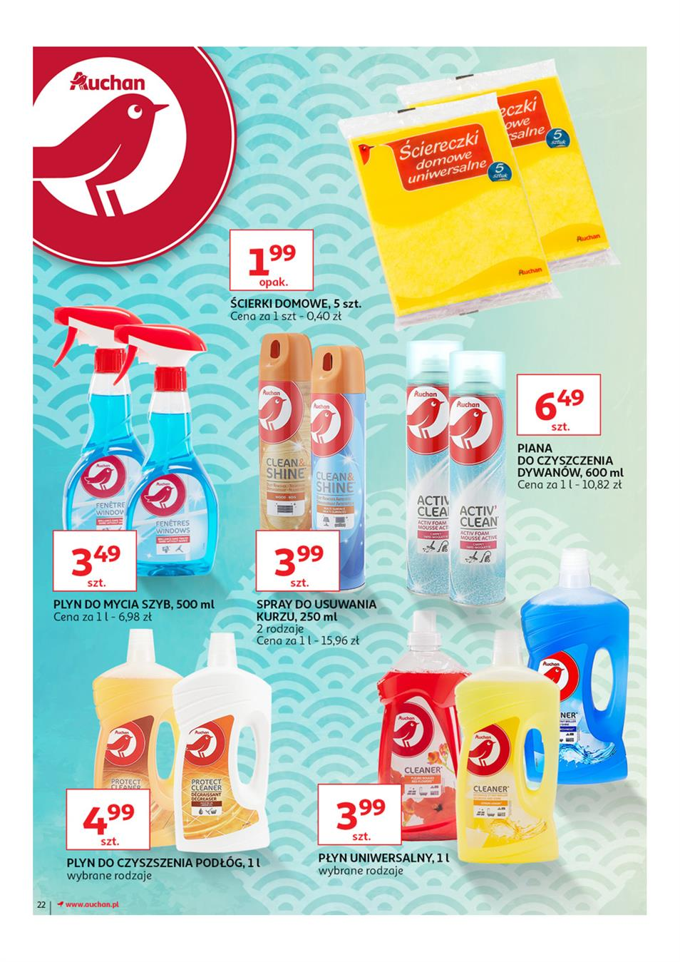 Gazetka Auchan Polska Sp. z o.o. nr 22 od 2019-03-14 do 2019-03-27