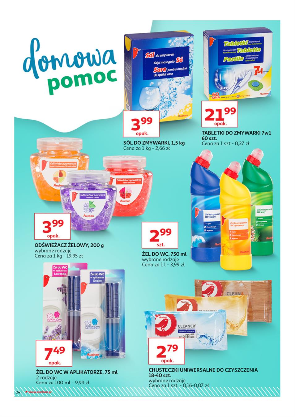 Gazetka Auchan Polska Sp. z o.o. nr 24 od 2019-03-14 do 2019-03-27