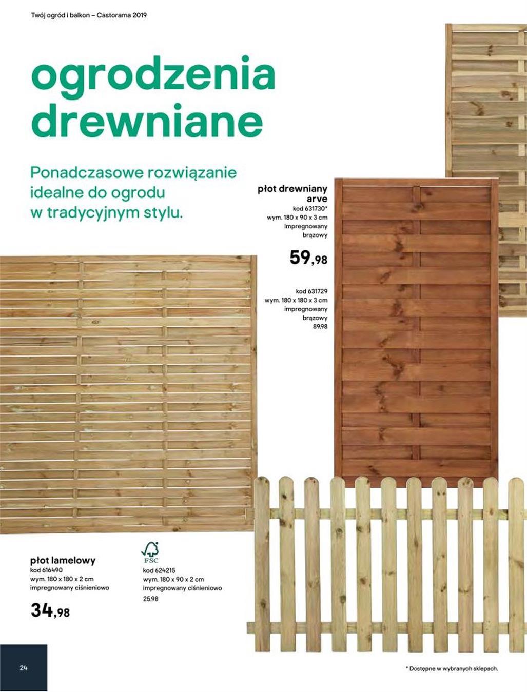 Gazetka Promocyjna Castoramapl Katalog Ogród 2019