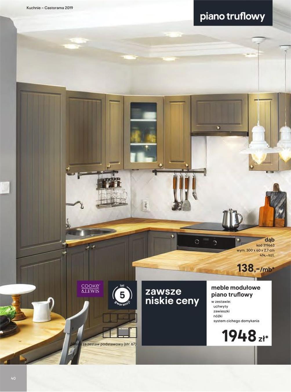 Gazetka Promocyjna Castoramapl Katalog Kuchnie 2019