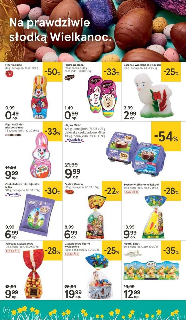 Gazetka Tesco Polska Sp. z o.o. nr 4 od 2019-04-11 do 2019-04-20