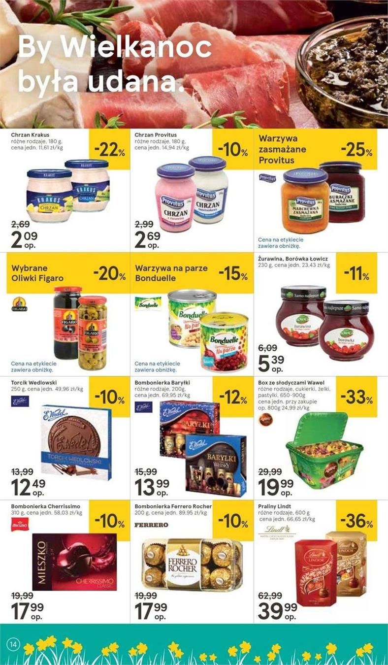 Gazetka Tesco Polska Sp. z o.o. nr 6 od 2019-04-11 do 2019-04-20