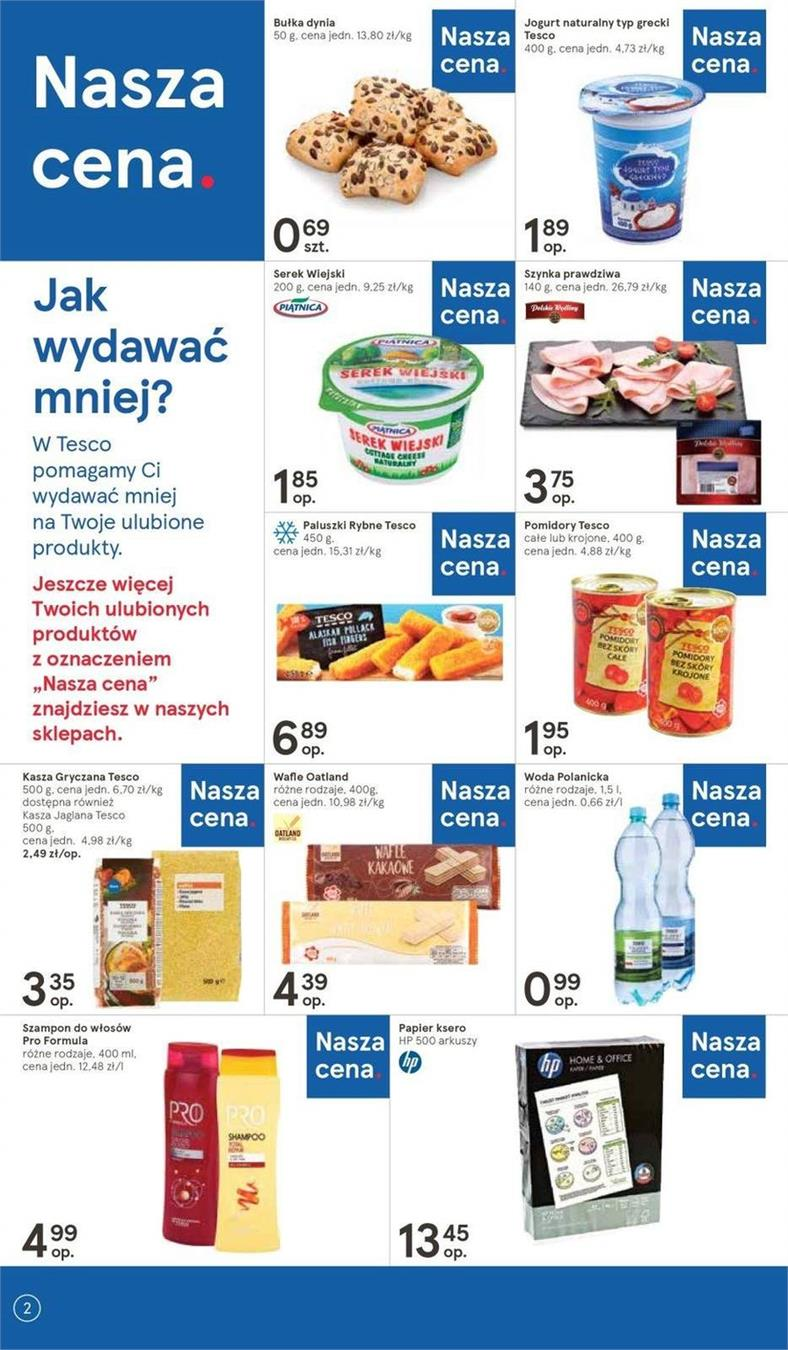 Gazetka Tesco Polska Sp. z o.o. nr 12 od 2019-04-11 do 2019-04-20