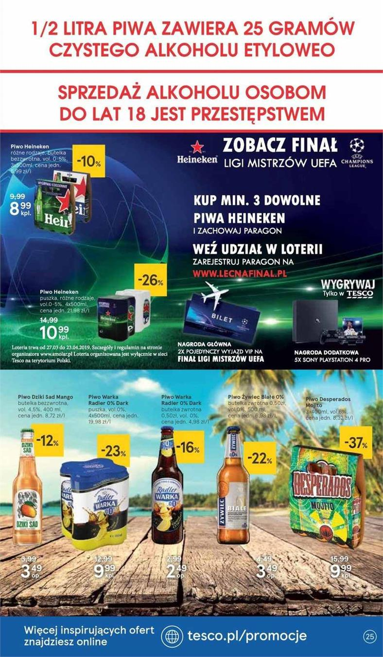 Gazetka Tesco Polska Sp. z o.o. nr 18 od 2019-04-11 do 2019-04-20