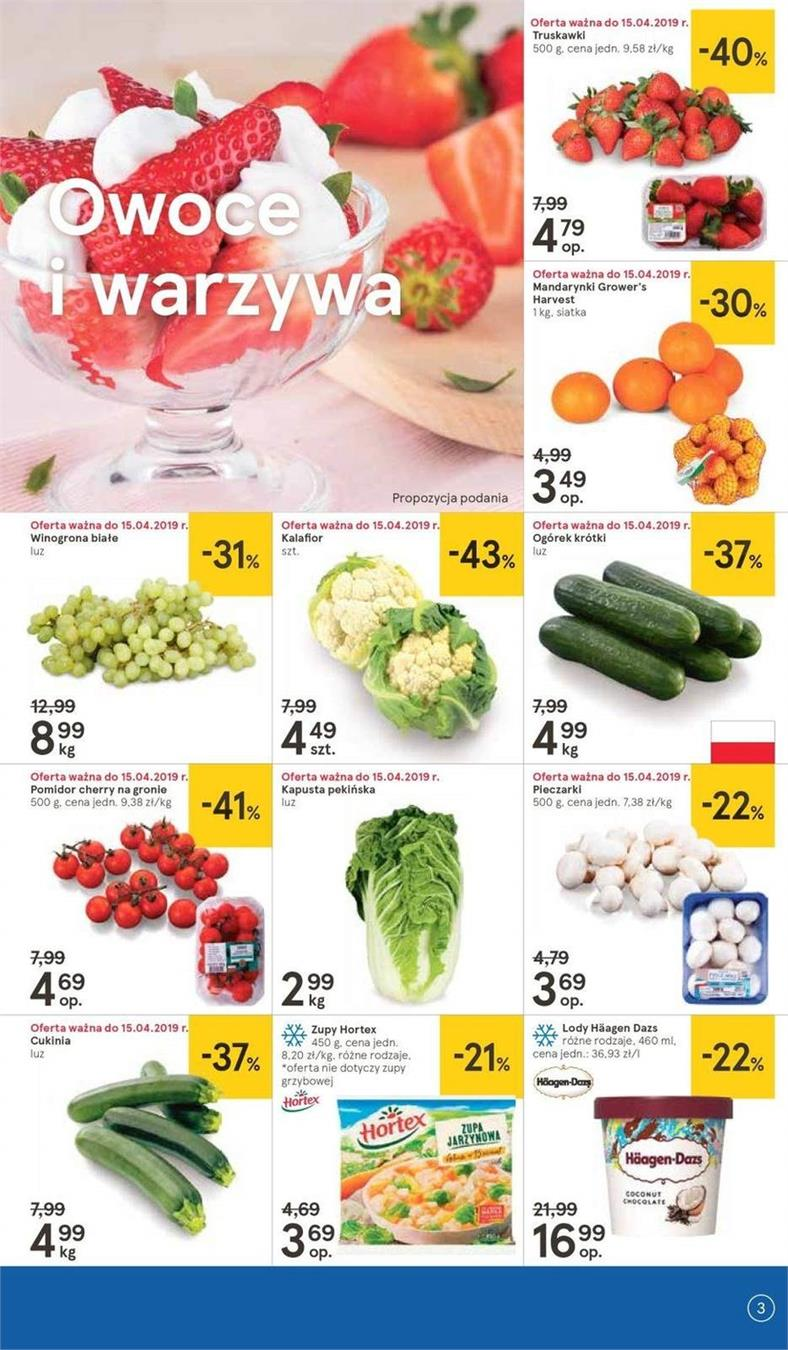 Gazetka Tesco Polska Sp. z o.o. nr 23 od 2019-04-11 do 2019-04-20
