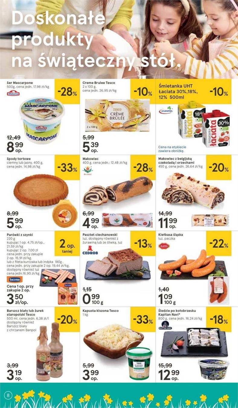 Gazetka Tesco Polska Sp. z o.o. nr 35 od 2019-04-11 do 2019-04-20