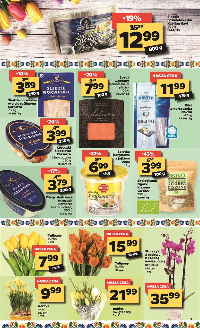 Gazetka Netto Sp. z o.o. nr 7 od 2019-04-15 do 2019-04-20