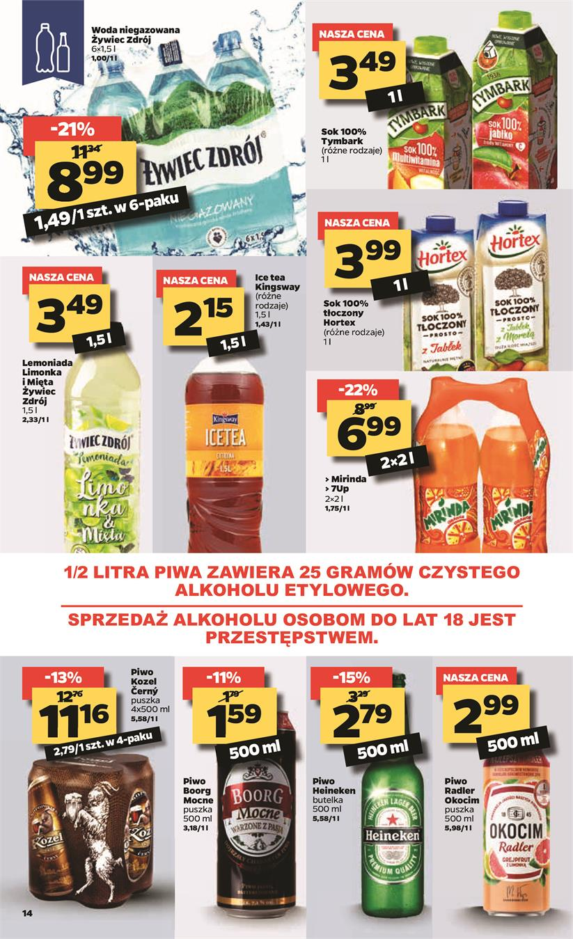 Gazetka Netto Sp. z o.o. nr 14 od 2019-04-15 do 2019-04-20