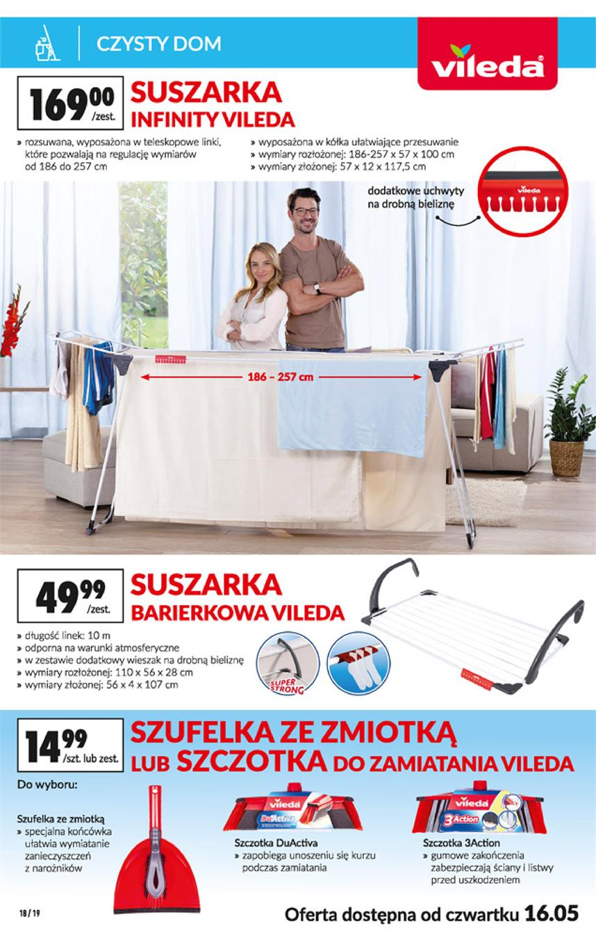Gazetka Jeronimo Martins Polska SA nr 18 od 2019-05-13 do 2019-05-29