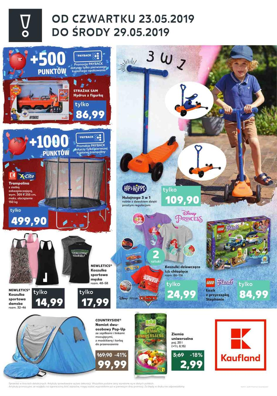 Gazetka Kaufland Polska Markety Sp. z o.o nr 2 od 2019-05-23 do 2019-05-29
