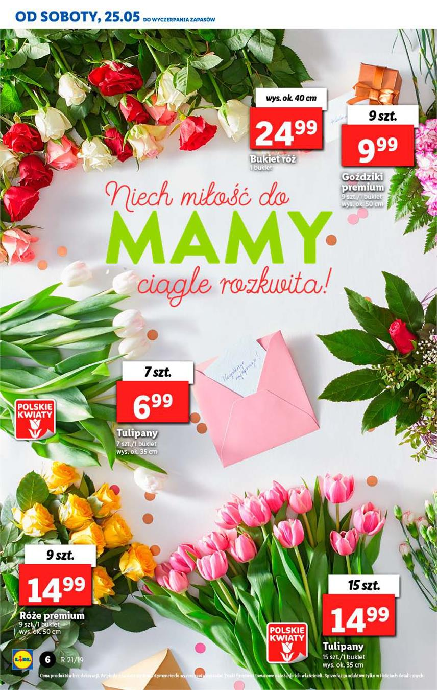 Gazetka Lidl Polska Sp. z o.o. nr 6 od 2019-05-23 do 2019-05-26