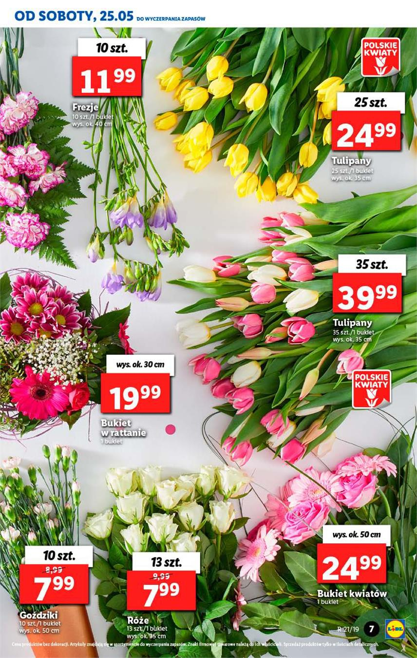 Gazetka Lidl Polska Sp. z o.o. nr 7 od 2019-05-23 do 2019-05-26