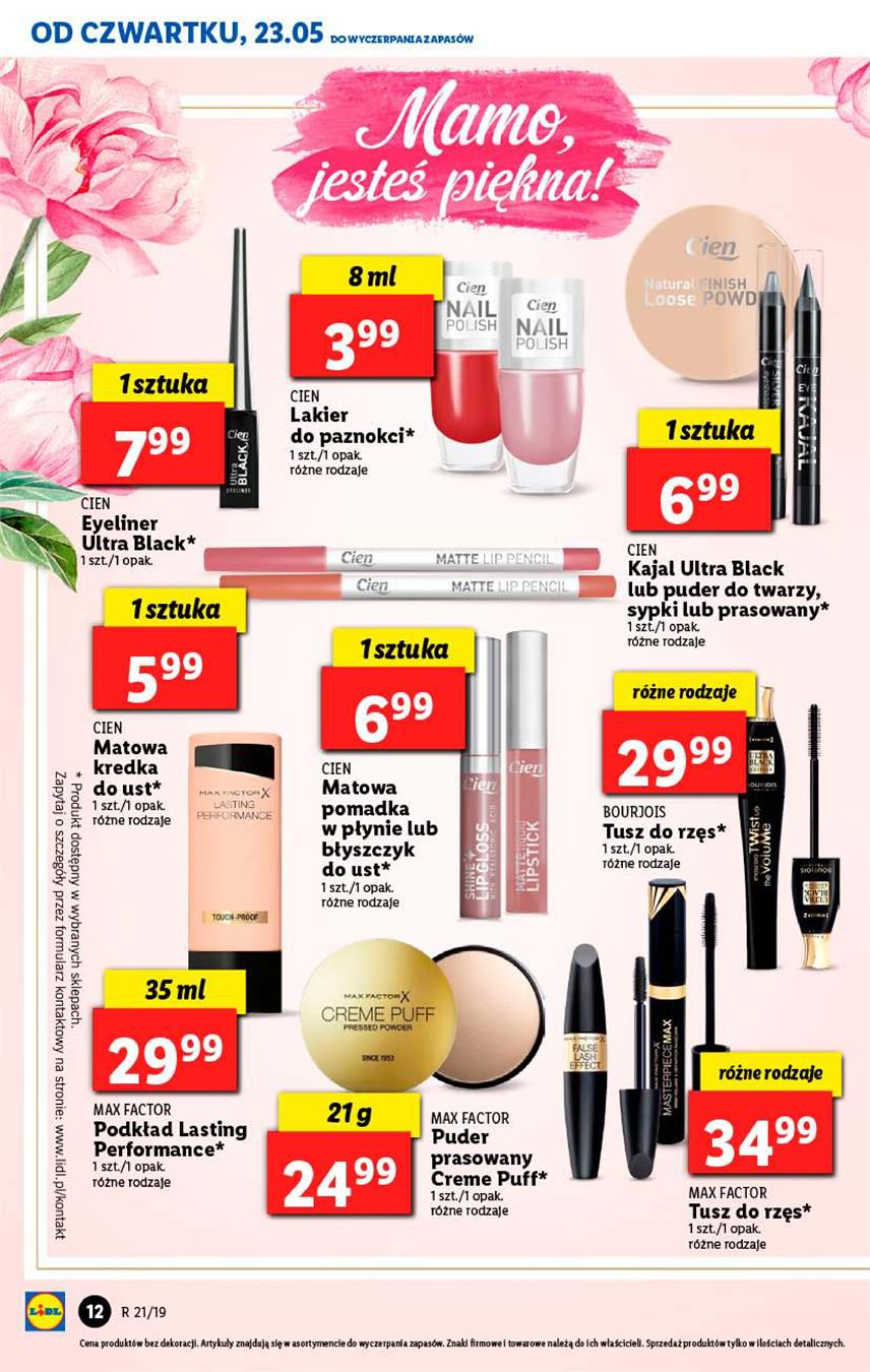Gazetka Lidl Polska Sp. z o.o. nr 12 od 2019-05-23 do 2019-05-26