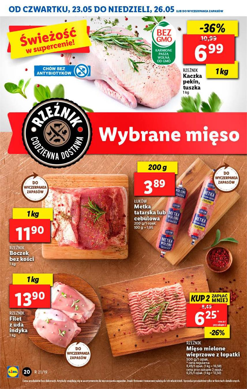 Gazetka Lidl Polska Sp. z o.o. nr 20 od 2019-05-23 do 2019-05-26