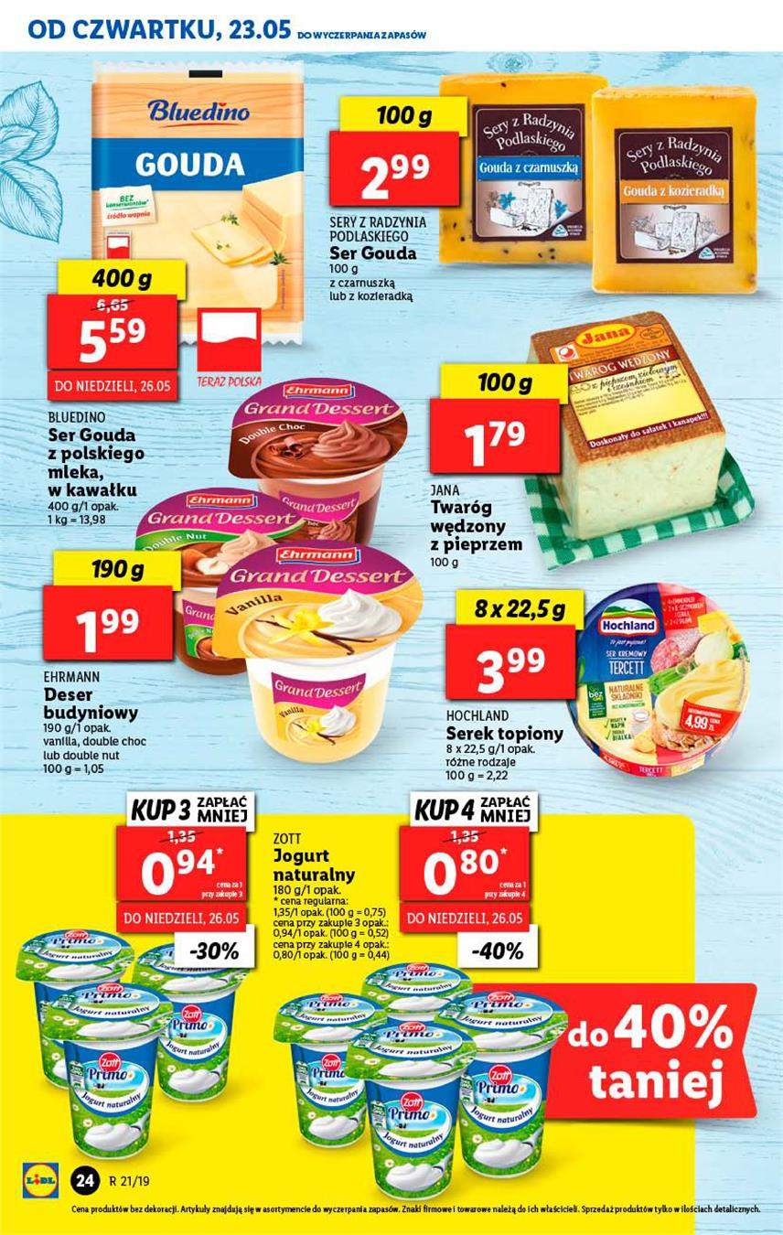 Gazetka Lidl Polska Sp. z o.o. nr 24 od 2019-05-23 do 2019-05-26
