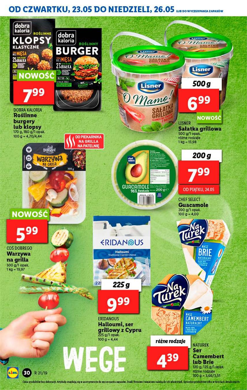 Gazetka Lidl Polska Sp. z o.o. nr 30 od 2019-05-23 do 2019-05-26
