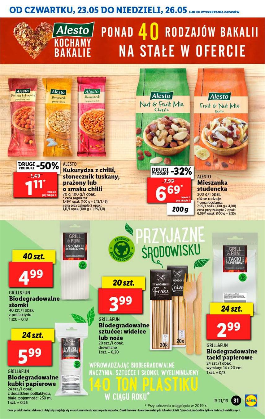 Gazetka Lidl Polska Sp. z o.o. nr 31 od 2019-05-23 do 2019-05-26
