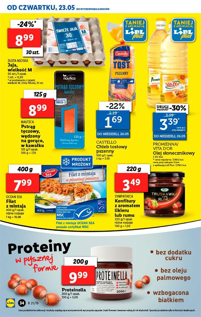 Gazetka Lidl Polska Sp. z o.o. nr 34 od 2019-05-23 do 2019-05-26